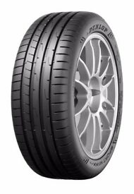 Brand new Dunlop sport max tyres x2 245/45/18
