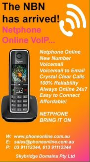 Netphone Online with new netphone number