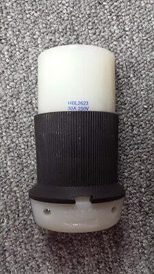 Hubbell Hbl2623 250v 30a 2-pole 3- Wire Socket