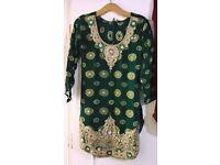 Punjabi PATIALA Shalwar Suit. Excellent condition Asian/Pakistani/Indian