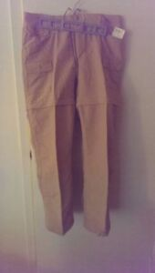 The North Face Women's convertible cargo pants, size 10