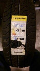 Dunlop 215/65/16c brand new