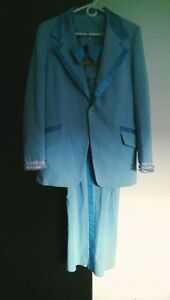 HALLOWEEN OUTFIT - Blue Tuxedo Dumb and Dumber !!