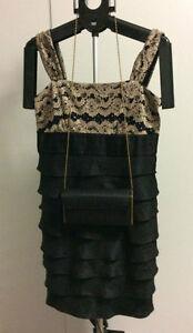 Dress + Evening Bag