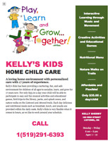 Spots Availble at Child Care Facility in Listowel