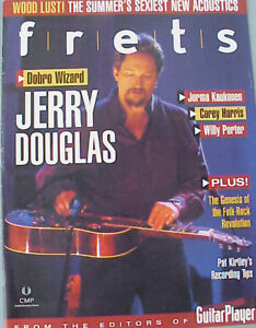 FRETS - Fall 2002 magazine backissue - JERRY DOUGLAS cover