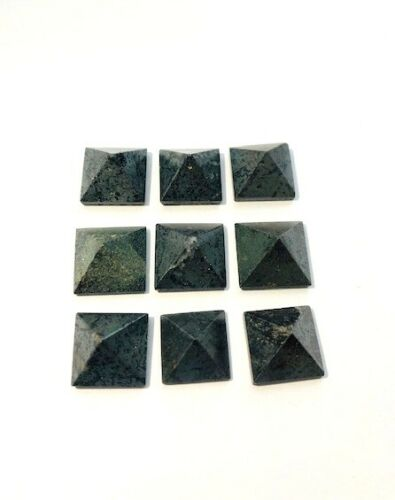 Nine Hematite Mini Baguas Feng Shui Gift Crystal Healing Metaphysical Gemstone