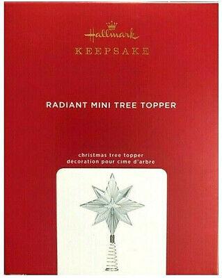 HALLMARK 2020 RADIANT MINI TREE TOPPER CHRISTMAS TREE STAR, MINIATURE KEEPSAKE
