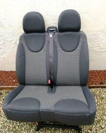 Passanger and rear seats for Peugeot Expert / Citröen Dispatch /Fiat Scudo