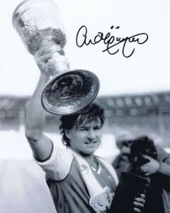 CHARLIE NICHOLAS FOOTBALLER SUPERB AUTHENTIC SIGNED 10 X 8 SALE AFTAL UACC