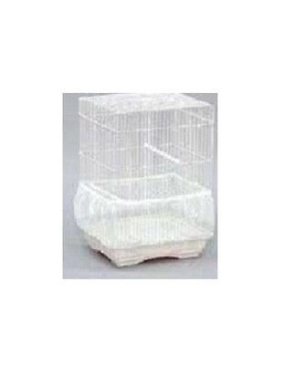 "JT BIRDIE BLOOMER SEED GUARD 35 X 65"" X 6.5"" KEET WHITE MESH.. FREE SHIP TO USA"