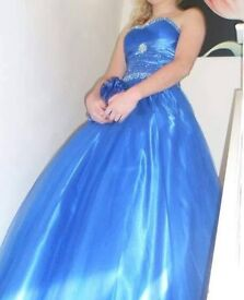 Prom dresses , blue size 8 and purple size 8
