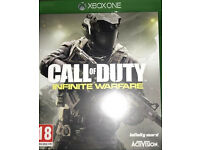 Call of duty infinite warfare Xbox one game as new