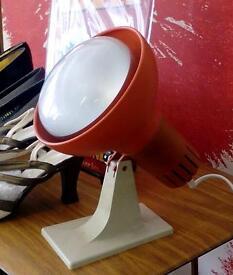 1960 spotlight/heatlamp.£10