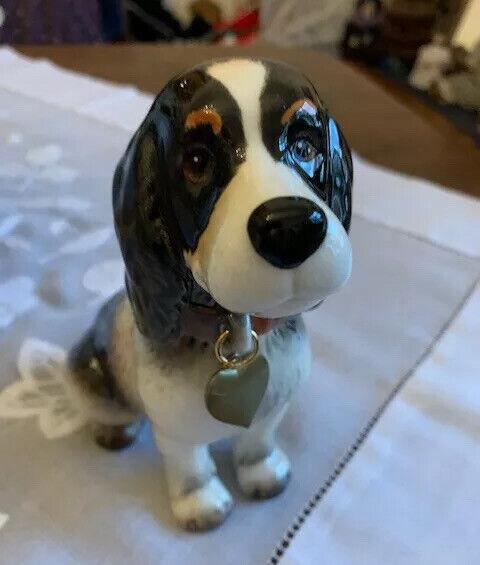 Goebel Hund Porzellan Cockerspaniel mit Herzanhänger In OVP Neu