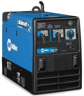 Miller 907500001 Bobcat 250 Engine Drive Welder Generator