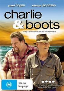 Charlie and Boots  - BLU-RAY  Region B EX RENTAL DISC ONLY CAN POST 4 DISCS FOR