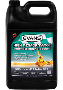 STOP OVERHEATING-NEW Evans High Performance Waterless Coolant