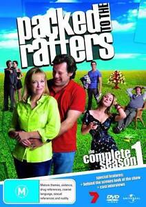 Complete Packed To the Rafters DVD set Tea Gardens Great Lakes Area Preview
