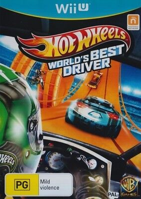 Hot Wheels Worlds Best Driver Brand New Sealed Wii U