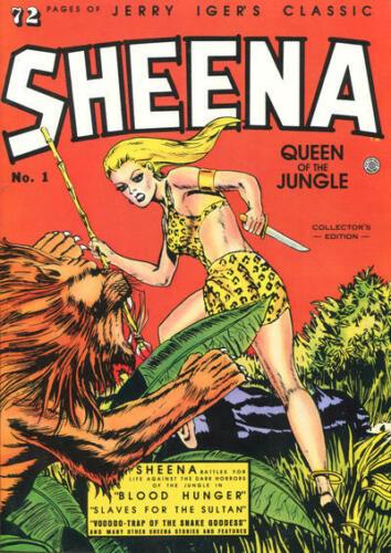 Classic Sheena Queen of the Jungle GN Jerry Iger Dave Stevens Matt Baker OOP NM
