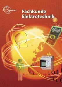 Fachkunde Elektrotechnik Buch mit DVD von Horst Bumiller (2016, Set mit diversen