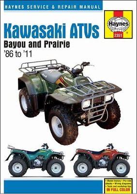 Kawasaki KLF 220 250 300 Quad Haynes Manual