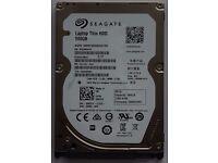 BRAND NEW SEAGATE 2.5 HARD DRIVE HDD ST500LM021 INTERNAL 500GB SATA 6.0Gbs 7200RPM