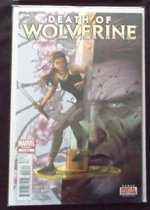 Death of Wolverine #3 Marvel Comics Foil Cover (November 2014)
