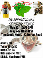 The Edmonton Reptile and Amphibian Society Spring Show