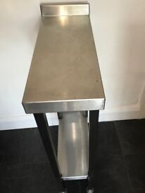 SILVERLINK CHROME COMMERCIAL KITCHEN WORKTOP STAND