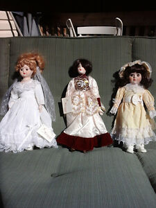 vintage musical heritage dolls