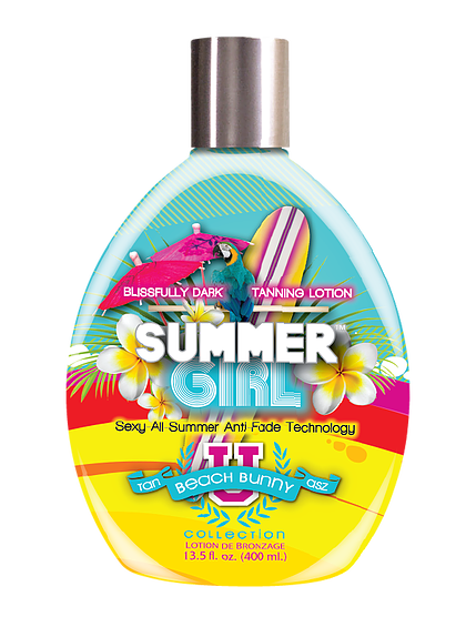 Summer Girl Bronzer Dark Indoor Tanning Lotion by Tan Asz U
