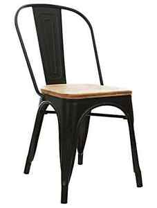RESTAURANT TOLIX STYLE WOODEN SEAT BAR STOOL DINING CHAIR Peterborough Peterborough Area image 4