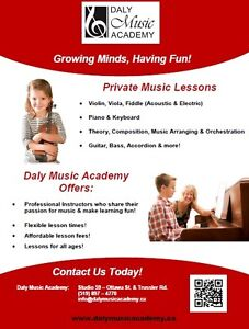 Private Music Lessons - Special Offer! Kitchener / Waterloo Kitchener Area image 2
