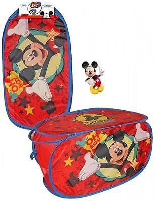 Disney Mickey Maus Pop Up Wäschekorb Spielzeugbox Aufbewahrungbox Auto Box ()