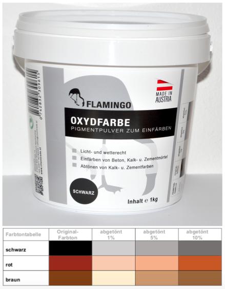 Oxydpigment, Oxidfarbe, Pigmentpulver, Trockenfarbe, Eisenoxid 1 kg schwarz.
