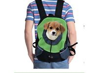 Puppy carrier backpack