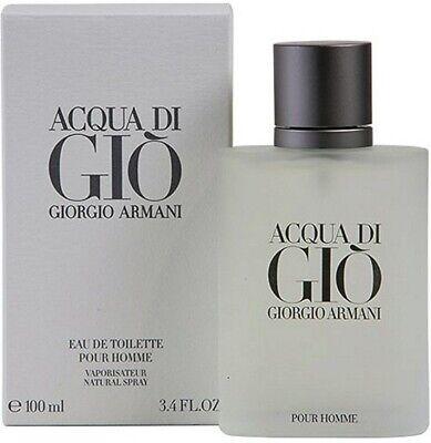 Giorgio Armani by Acqua di Gio Men's 3.4 oz / 100ml Eau de Toilette New , sealed