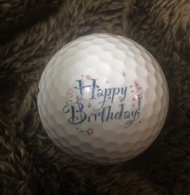 Logo Golf Ball Happy Birthday EHWGA 50 Years