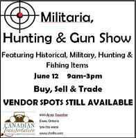 Military and Hunting Gun Show