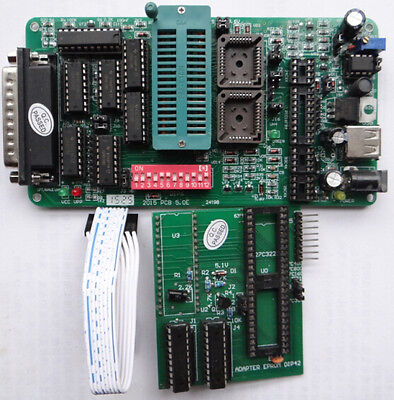 Pcb5.0 Eprom Programmer M27c800m27c160m27c322 Adapter Ffor Car Camera Pc Bios