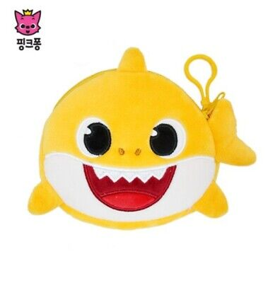PINKFONG Baby Shark Coin Purse Wallet Small Pouch Baby Child Kids YL