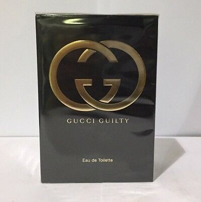 Gucci Guilty By Gucci 2.5 Oz Eau de Toilette Spray NIB Sealed Perfume For Women