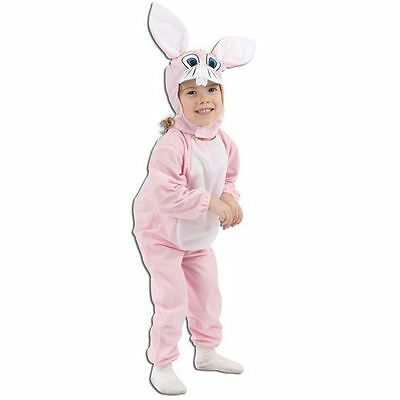 TODDLER PINK BUNNY RABBIT EASTER FANCY DRESS COSTUME](Toddler Bunny Costume)