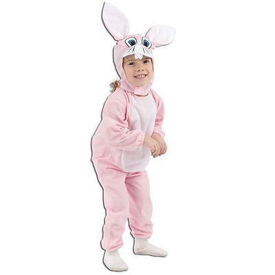 TODDLER PINK BUNNY RABBIT EASTER FANCY DRESS COSTUME](Toddler Bunny Costume)