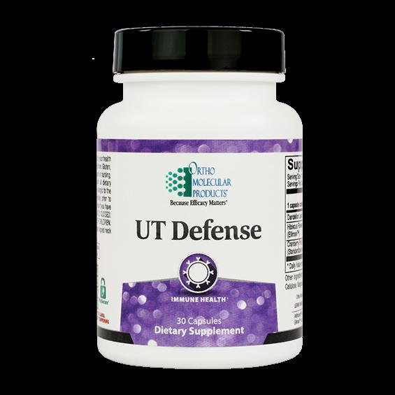 Ortho Molecular- UT Defense-Immune Health 30 capsules 06/21