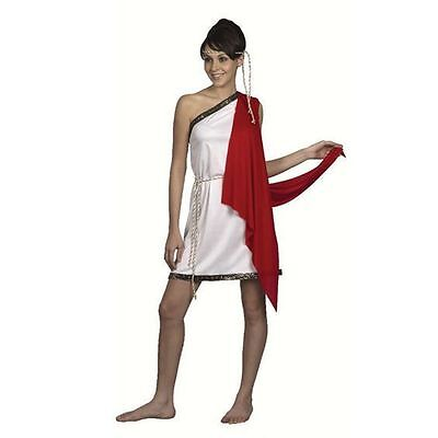 LADY GODDESS ROMAN GREEK TOGA FANCY DRESS COSTUME