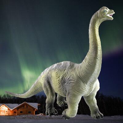 Realistic Dinosaur (New Brachiosaurus Realistic Apatosaurus Solid Plastic Dinosaur Figure Toy)
