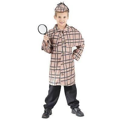 Sherlock Holmes (Groß), Detektiv, Kinder Kostüm Kostüm, Kinder Buch Woche